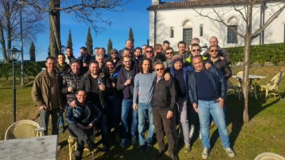 I partecipanti alla cena delle Partite Iva (© Diario di Udine)