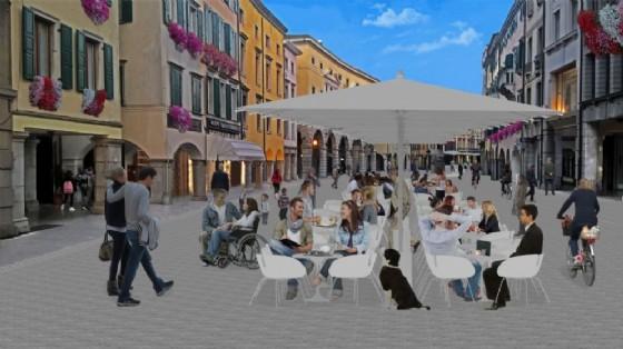 Via Mercatovecchio, a Udine (© Comune di Udine)