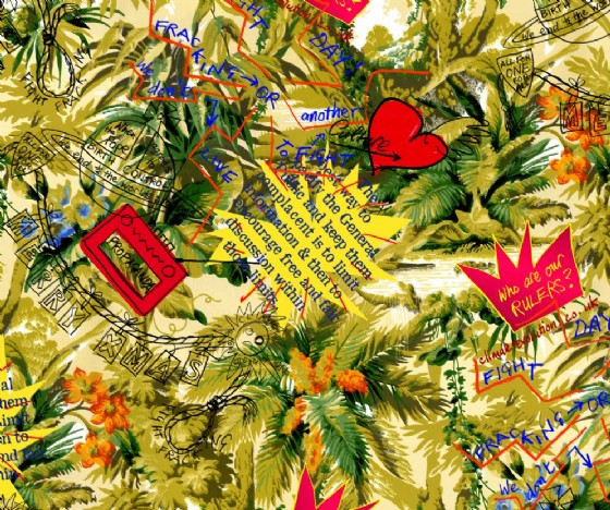 Vivienne Westwood a Shangai per Get a Life, Rainforest Print