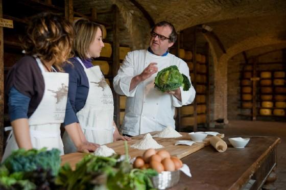 Lezioni di cucina al Pallavicina
