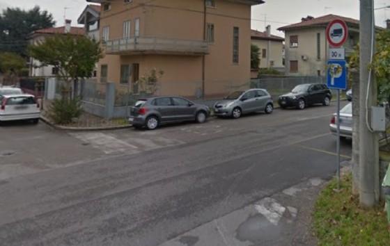 L'intersezione tra via Villa Glori e via Bixio (© Google)