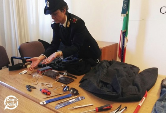 La refurtiva dei furti (© Diario di Udine)
