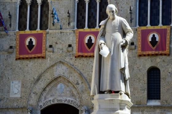 Monte Paschi Siena. (© Giuseppe Cacace| Afp.com)