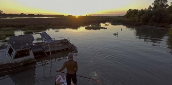 Una delle spettacolari immagini del video