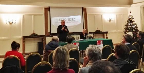 La serata dedicata ad Aldo Moro (© Diario di Udine)