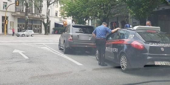 Controlli dei carabinieri a Udine (© Diario di Udine)