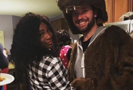 Serena Williams con il «futuro» marito, Alexis Ohanian