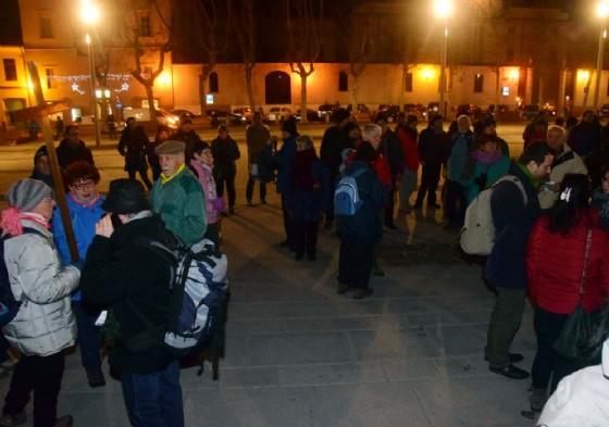 Il ritrovo dei partecipanti era nei pressi del Battistero