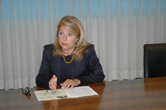 L'assessore regionale alla Salute, Maria Sandra Telesca