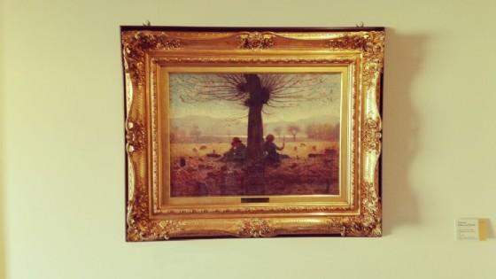 Uno degli splendidi quadri in mostra (© Museo del Territorio Biellese)