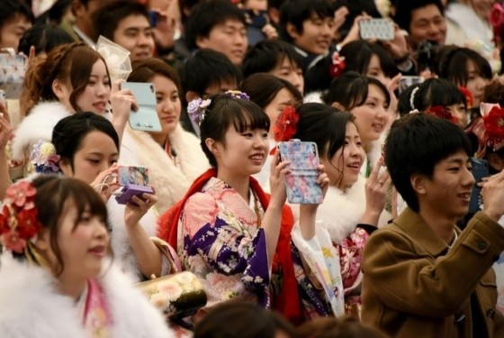 A day that involves formal ceremonies to mark Japan's national Coming of Age day often ends in drinking for the country's 20-year-olds