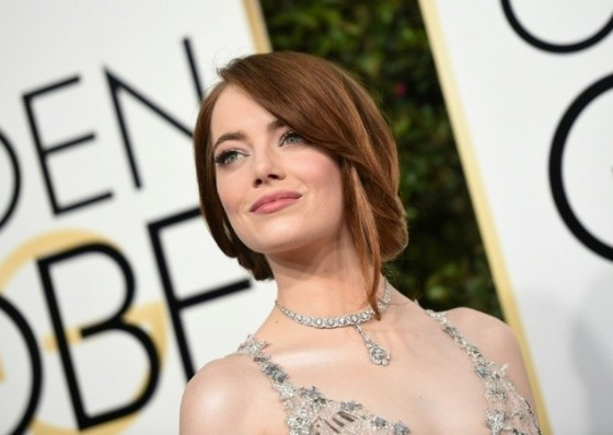Meryl Streep was nominated for best actress in a musical or comedy film at the 74th Golden Globes for her performance in Stephen Frears's «Florence Foster Jenkins» but lost out to Emma Stone (pictured)