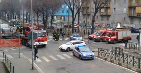 Grave incidente sul lavoro in via XI Febbraio (© Diario di Torino)