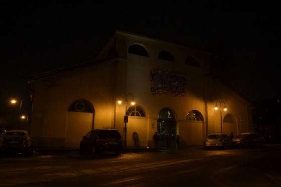 L'ingresso del Sermig in piazza Borgo Dora a Torino