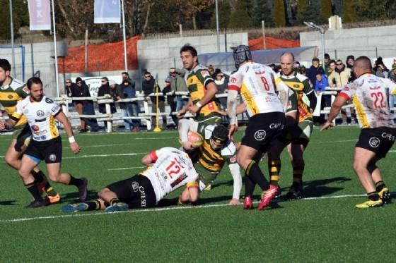 La meta di Corrado Musso (foto di Stefano Socco) (© Biella Rugby)