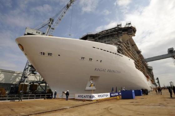 Una delle navi di Fincantieri