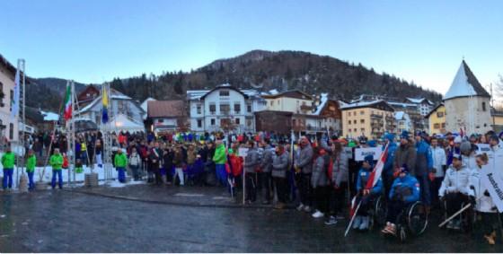L'apertura dei Mondiali di sci a Tarvisio (© Regione Friuli Venezia Giulia)