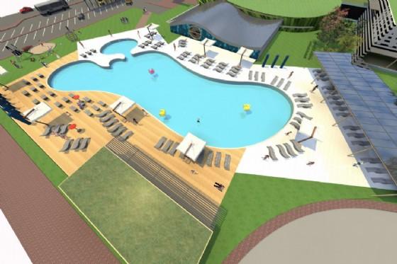 disegnata la piscina del futuro sar a impatto zero