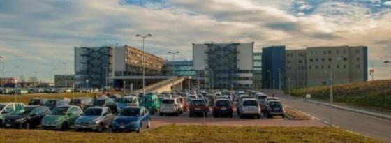 L'ospedale biellese, che sorge a Ponderano