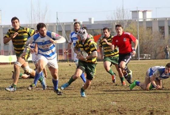 Uno scatto della gara di pandata (© Biella Rugby)