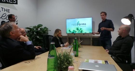 NeoFarms, la serra tech per la verdura fresca in casa (© StartupBootCamp)