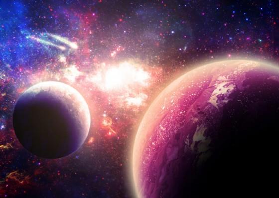 Questa sera la congiunzione Venere, Marte e Luna (© Aphelleon | shutterstock.com)