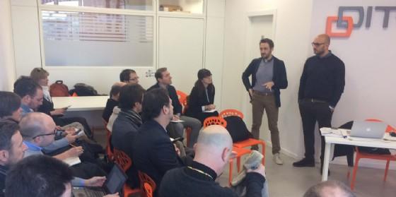 L'incontro svoltosi al Ditedi di Tavagnacco (© Ditedi)