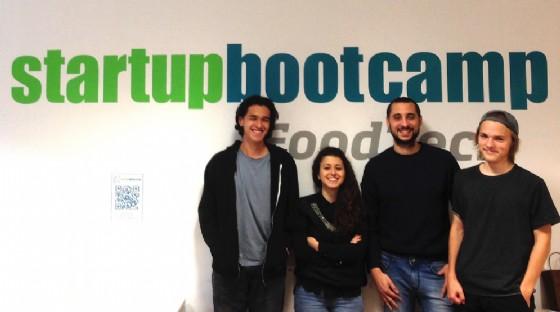 FruitsApp Team (© StartupBootCamp)