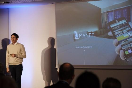 La startup Manet