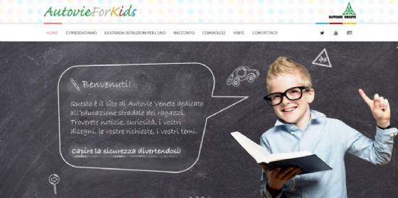 AutovieForKids: uno spazio dedicato all'educazione stradale per i più piccoli (© Autovie Venete)