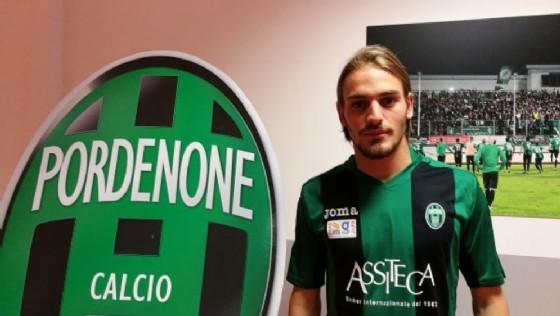 Ingaggiato il centrocampista Bulevardi, in prestito dal Pescara (© Pordenone Calcio)