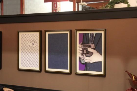 Segno, disegno e gesto, il concept della nuova collezione Barberis Canonico all'interno dello stand