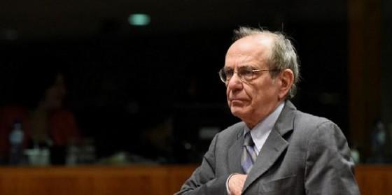 Il ministro dell'Economia, Pier Carlo Padoan. (© JOHNTHYS | Afp.com)
