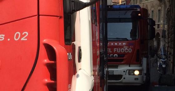 Intervento dei Vigili del Fuoco di Tarvisio e Pontebba (© Diario di Udine)