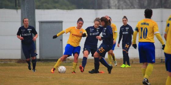 Chiara Paroni autrice del primo gol del Tavagnacco (© Upc Tavagnacco)