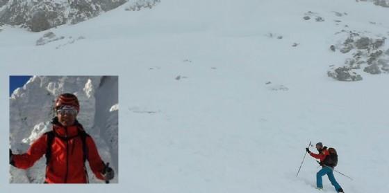 Sono critiche le condizioni dello scialpinista travolto dalla valanga (© Diario di Udine)