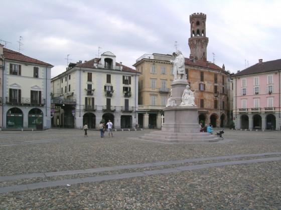 Vercelli, piazza Cavour (© Michele Buzzi)