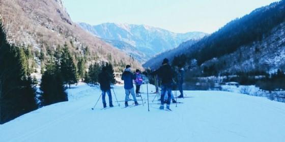 I migranti ai corsi di sci