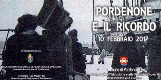 """Giorno del Ricordo, Ciriani: """"Sì al rispetto delle vittime no alle mistificazioni"""" (© Comune di Pordenone)"""