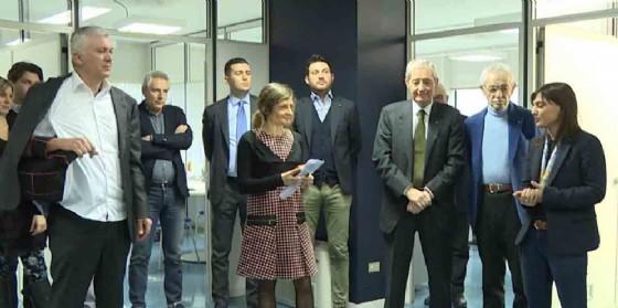 La visita di Serracchiani nella sede di Bluenergy Group (© Regione Friuli Venezia Giulia)