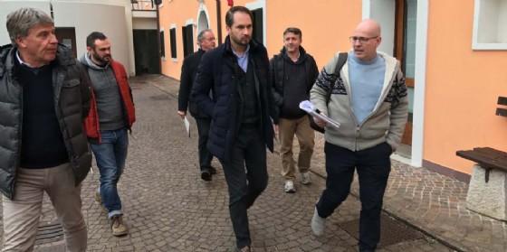 Shaurli visita La Viarte, sostegno a imprese agrisociali (© ARC Pironio)