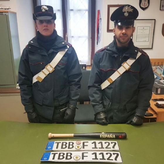 Il materiale sequestrato a Tarvisio (© Carabinieri)