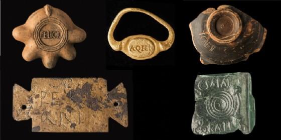 Alcuni degli oggetti in mostra ad Aquileia