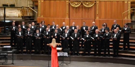 Il Coro Polifonico di Ruda in concerto (© Ert)
