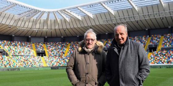 Delneri e Ventura allo stadio Friuli (© Petrussi)