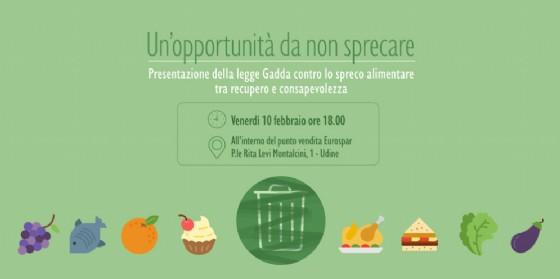 A Udine si presenta la legge contro lo spreco alimentare (© Paolo Coppola)