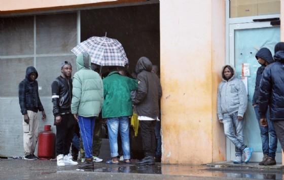 Un centro di accoglienza per irchiedenti asilo