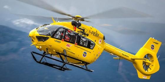 Il nuovo elicottero utilizzato per il 118 (© 118)
