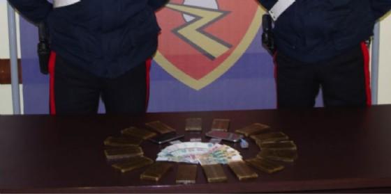 La droga sequestrata (© Carabinieri)