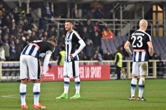 Sconfitta in trasferta per l'Udinese